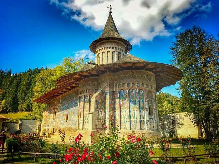 Монастырь Воронец, памятник Всемирного наследия ЮНЕСКО. 1488 г.