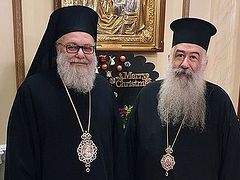 Patriarch of Jerusalem invites Patriarch of Antioch to Synaxis of Primates in Jordan