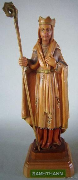 Преподобная Самтанна Клонбронийская и святитель Фланнан Киллалойский