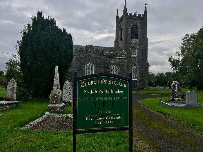 Церковь св. Иоанна Крестителя в Баллинали, Лонгфорд, Фото: Historicgraves.com