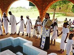 Another 30 souls united to Christ in mass Baptism in Congo