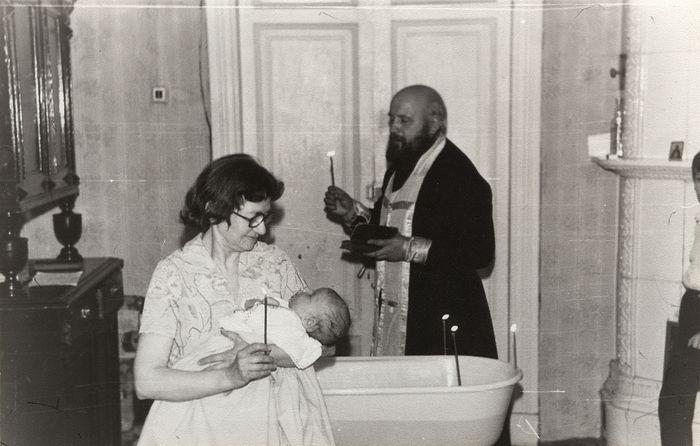 Крестины внука, 1988