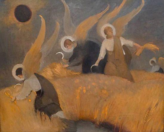 Ангелы. Иллюстрация к «Слову о полку Игореве» Алексея Валерьевича Артемьева