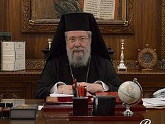 Archbishop of Cyprus ignores Patriarch of Jerusalem's invitation to council to solve Ukrainian crisis