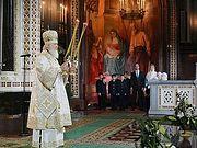 В праздник Рождества Христова Святейший Патриарх Кирилл совершил Божественную литургию в Храме Христа Спасителя