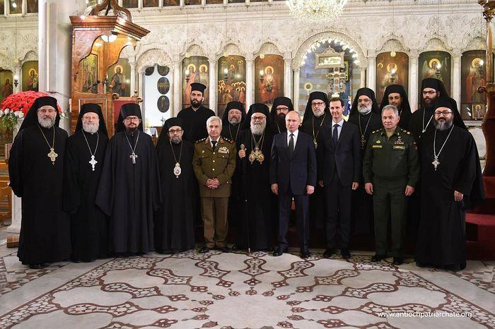 Президент России посетил Антиохийскую Патриархию