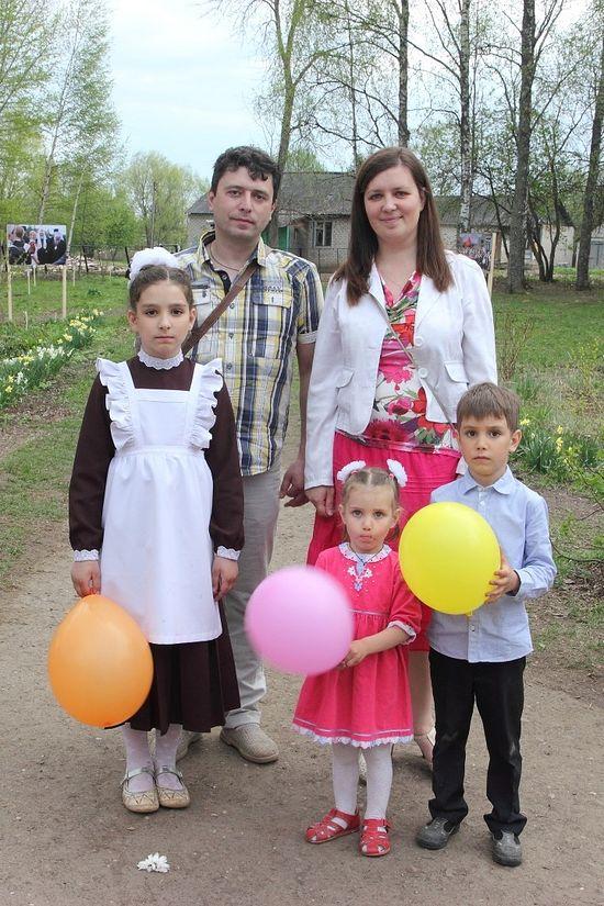 Семья Скорихиных