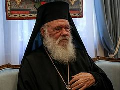 Глава Элладской Церкви официально отказался ехать на Совет Предстоятелей в Иорданию