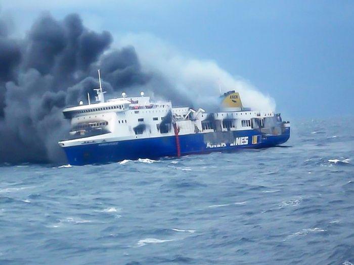 Πυρκαγιά στο πλοίο «Νόρμαν Ατλάντικ»
