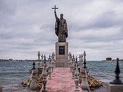 Памятник священномученику Клименту Римскому освящен в Крыму