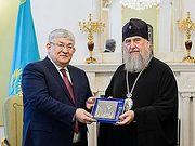 Госсекретарь Республики Казахстан посетил кафедральный собор, духовно-культурный центр и музей новомучеников и исповедников в Нур-Султане