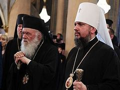 Greek Church's 2020 diptychs include Epiphany Dumenko and schismatic church