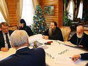Прошло заседание Попечительского совета по возрождению Саровской и Дивеевской обителей