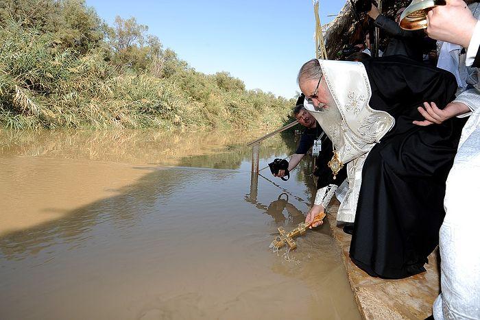 Об истинном месте Крещения Иисуса Христа, Иорданских святых и «епископе без кафедры»