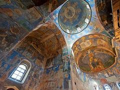 Restoration of pre-Mongolian frescoes in ancient Pskov church to resume
