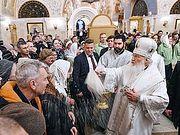 В Крещенский сочельник Святейший Патриарх Кирилл совершил Литургию в кафедральном соборном Храме Христа Спасителя
