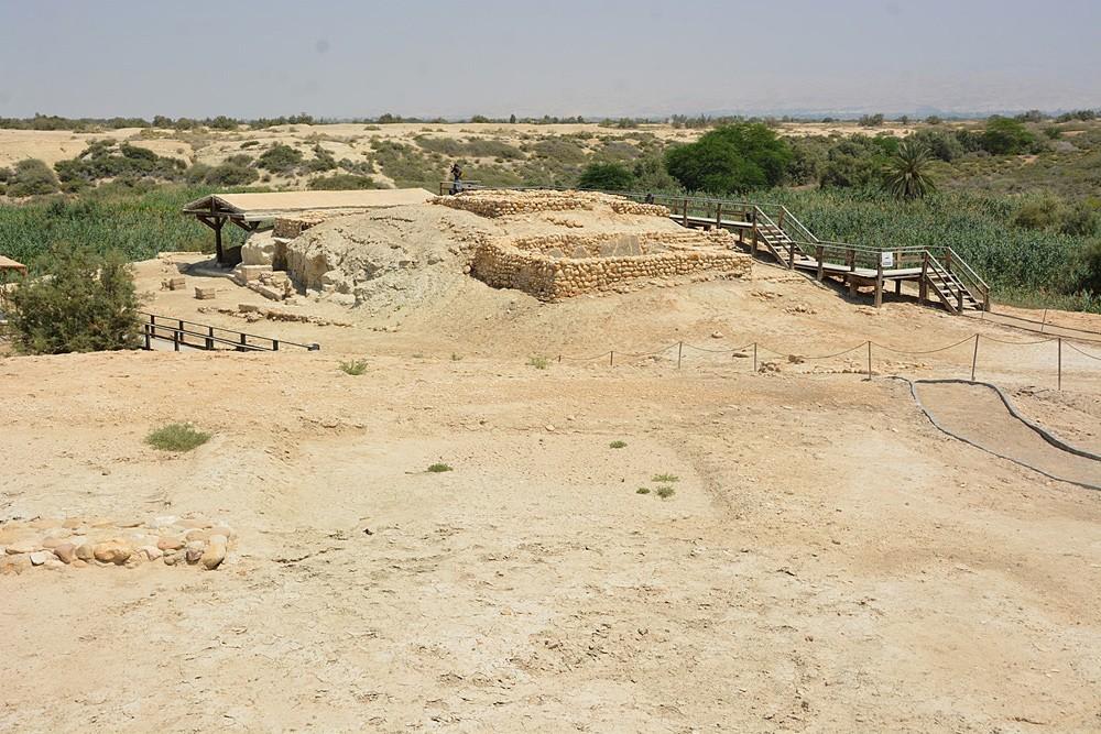 Вершина холма пророка Илии, на котором располагался монастырь Роториуса