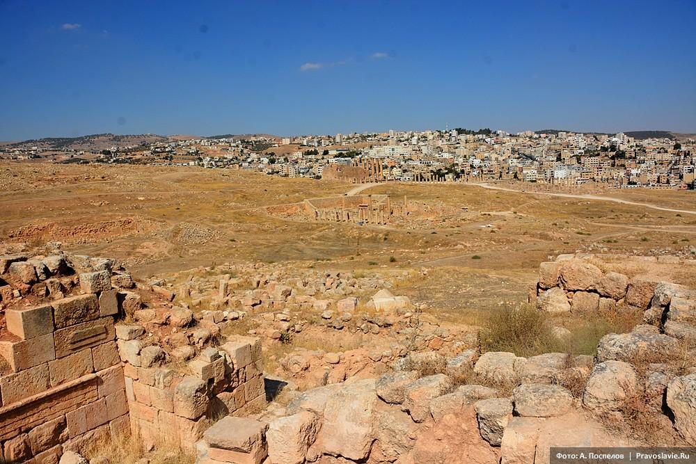 Джераш (Гераса), развалины античного города