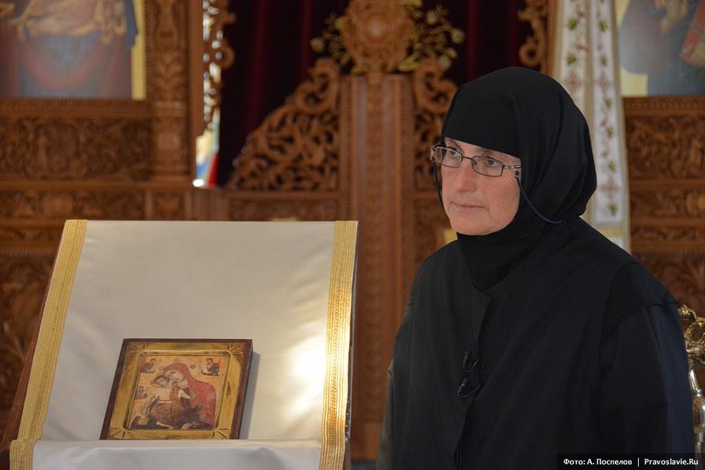 Игумения женского монастыря