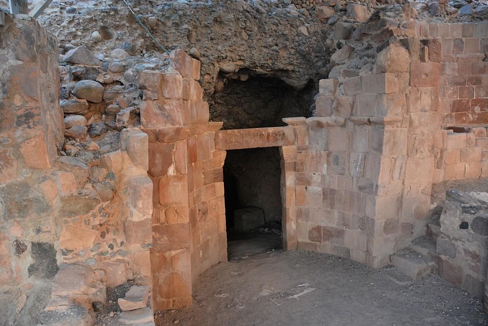 Вход в саму Пещеру Лота