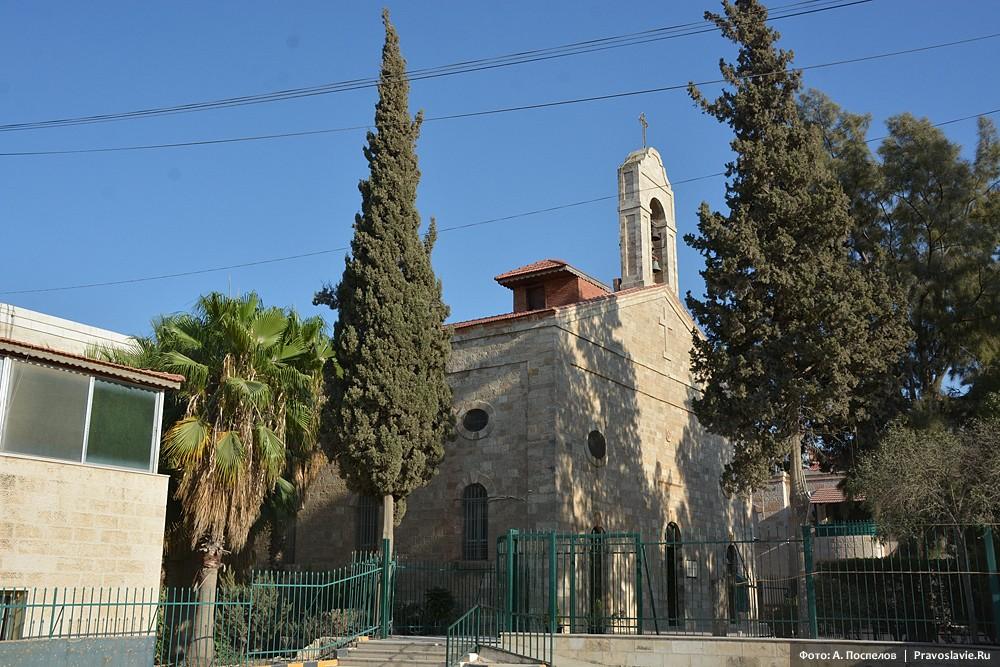 Мадаба, храм великомученика Георгия