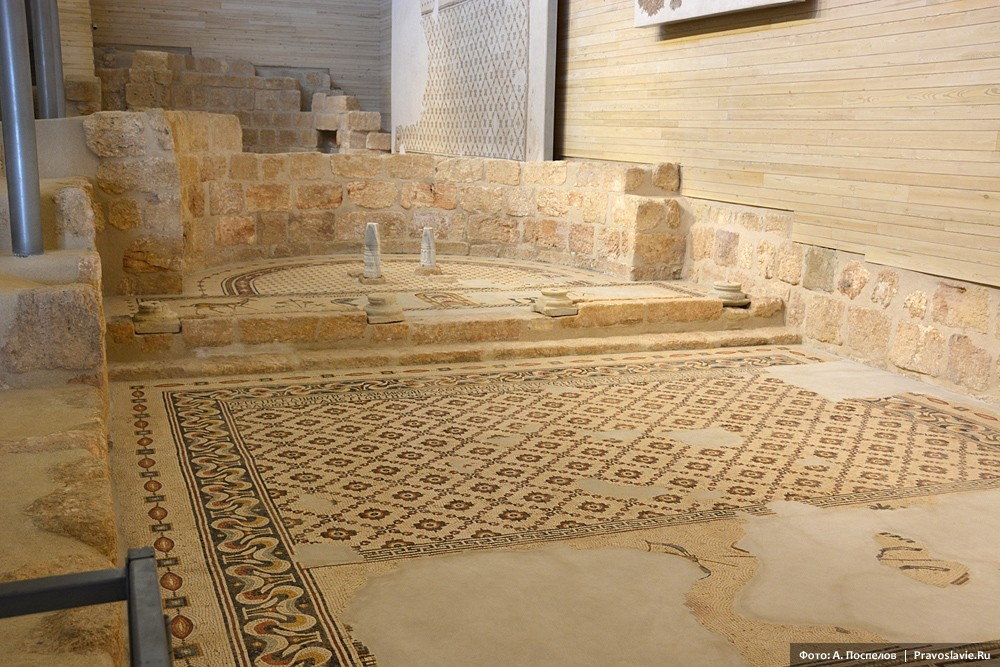 Гора Нево, раскопки византийского храма