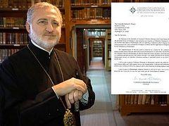 Archbishop Elpidophoros addresses Secretary Pompeo with concerns about Orthodox faithful in Montenegro
