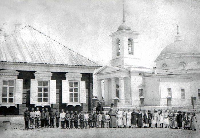 Енотаевский Троицкий собор до революции