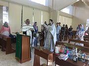 В праздник Богоявления свою первую годовщину отметила община Московского Патриархата в Канкуне (Мексика)