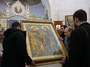 В храм великомученицы Ирины в Покровском принесена икона «Дружба русского и грузинского православных народов»