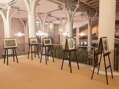В Москве на трех площадках открылась выставка «Красота Божьего мира. Великая Победа: наследие и наследники»