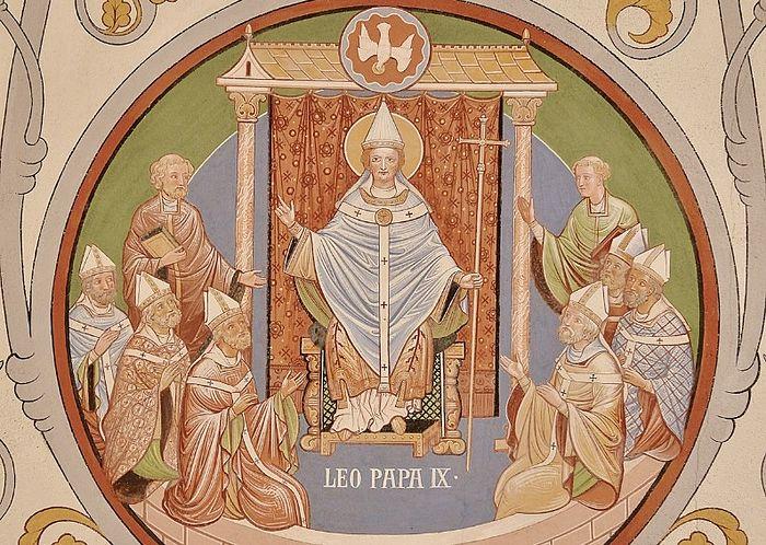 Pope Leo IX. Photo: vokrugsveta.ru