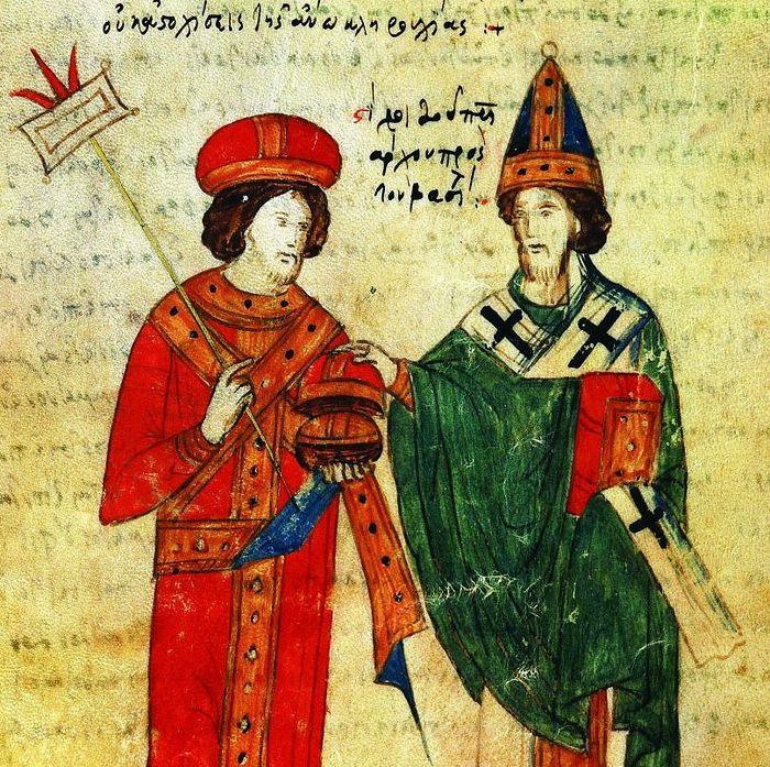 Pope Leo IX and the Patriarch of Constantinople Michael I Cerularius. Photo: tunnel.ru