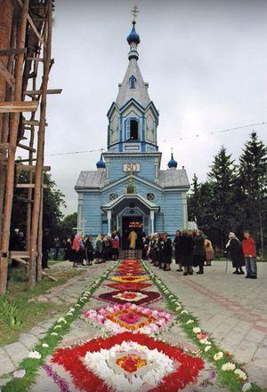 Покровская церковь в родном селе