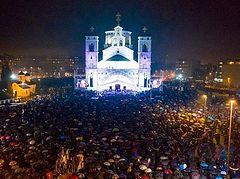 Περίπου 50 000 χριστιανοί του Μαυροβουνίου σε ολονύκτια δέηση
