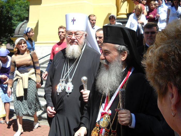 Met. Sawa with Pat. Theophilos in 2010. Photo: wikipedia.org