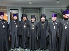В Синодальном отделе по взаимодействию с Вооруженными силами обсудили пастырские аспекты деятельности священника в силовых структурах
