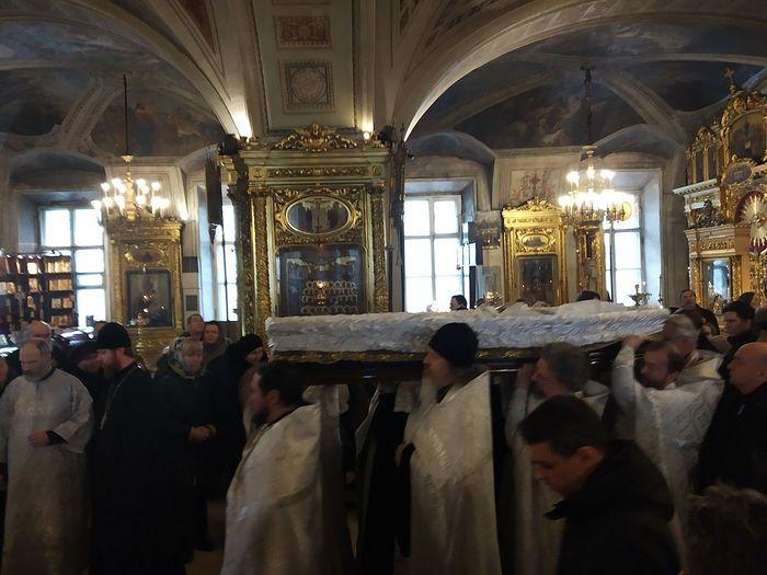 The Final Procession of Protopresbyter Matfey Stadnyuk. Photo by Matfey Shaheen