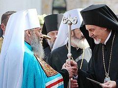 Το Φανάρι αφαίρεσε από τους Επισκόπους της κανονικής Εκκλησίας της Ουκρανίας τις επαρχίες τους