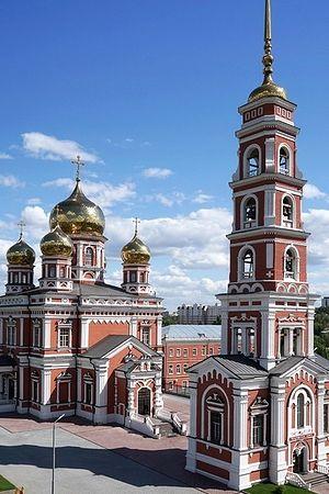 Покровский храм Саратова - современый вид