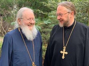 Bishops-elect Syméon and Elisée. Photo: exarchat.eu