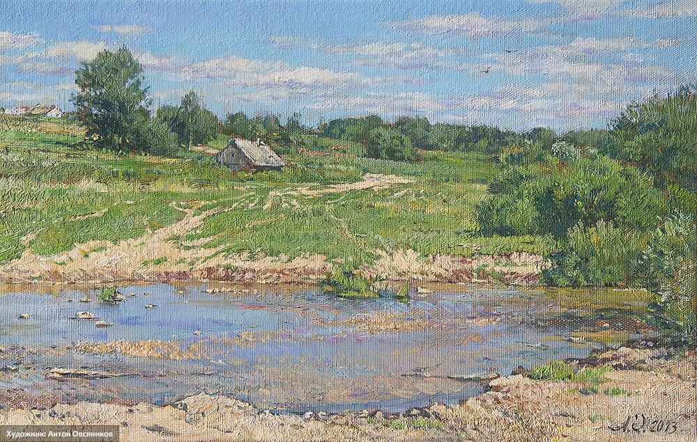 На реке Холохольне