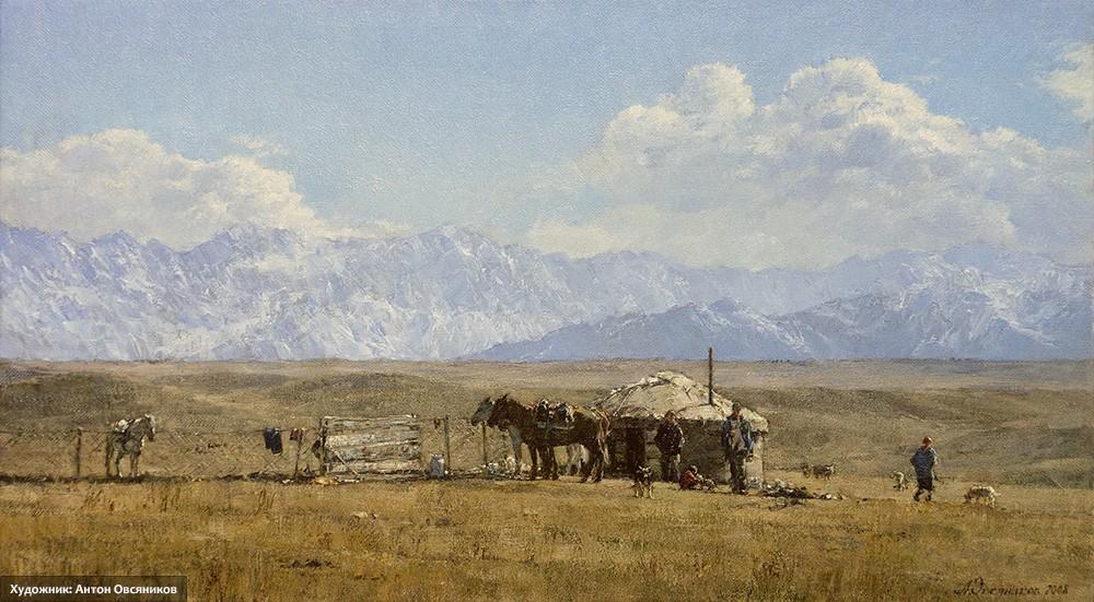 Плато Уш-Коныр. Казахстан