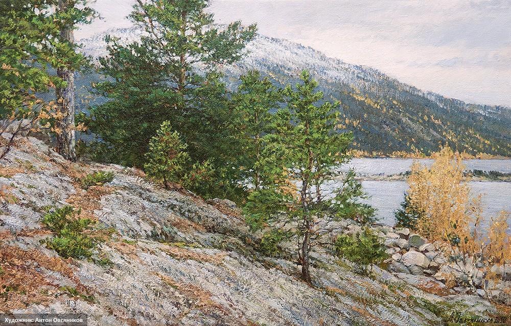 Озеро Большое Чебачье. Боровое. Казахстан