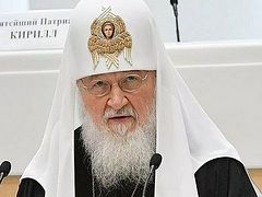 Patriarch Kirill proposes adding reference to God to Russian constitution