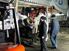 20 tons of humanitarian supplies sent for refugees living in Svyatogorsk Lavra