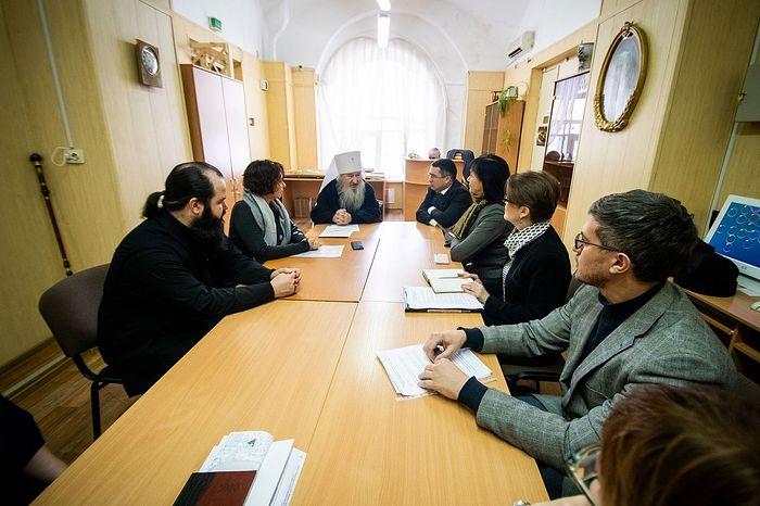 Состоялось совещание по взаимодействию Казанской епархии и Национального музея Татарстана