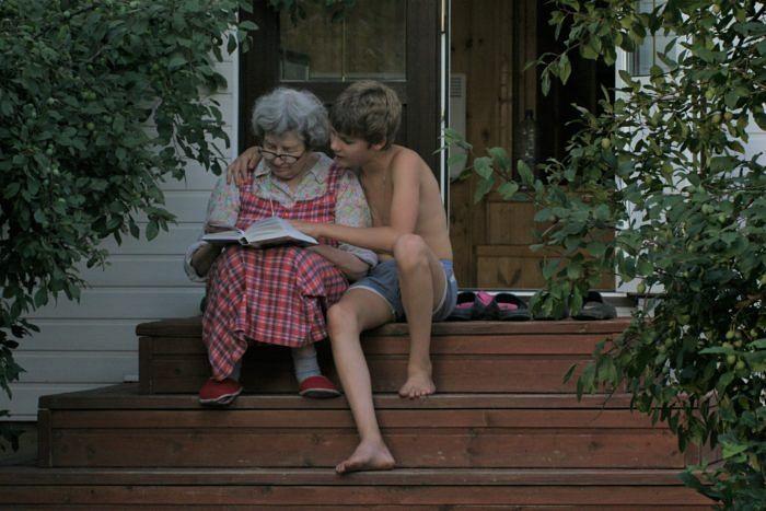 Татьяна Николаевна с внуком, 2007 год