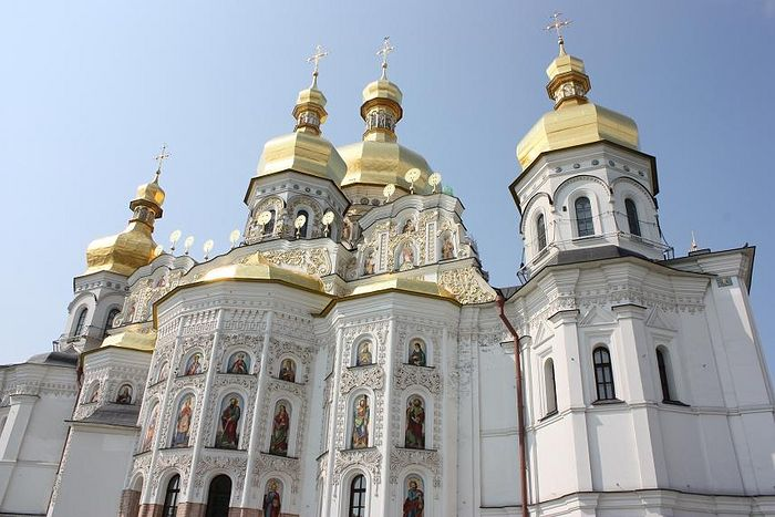 The Dormition Cathedral of Kiev Caves Lavra