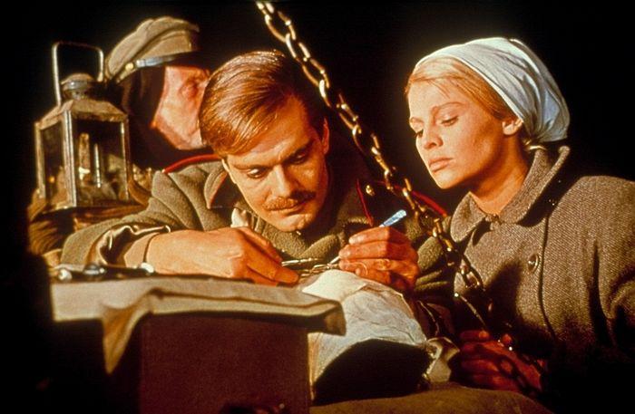 Кадр из фильма «Доктор Живаго» (Doctor Zhivago, 1965)